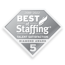 Best of Staffing Talent Satisfaction logo