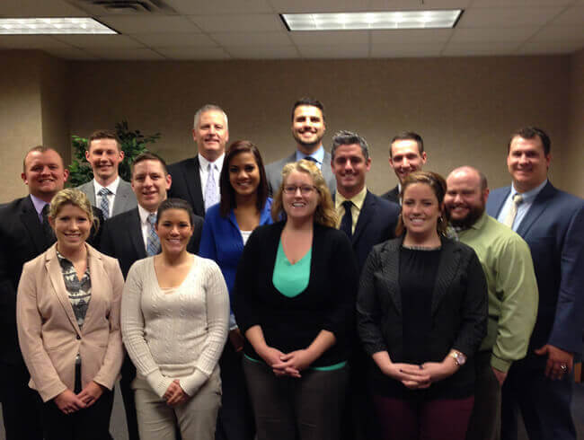 Aerotek office staff in East Lansing, MI