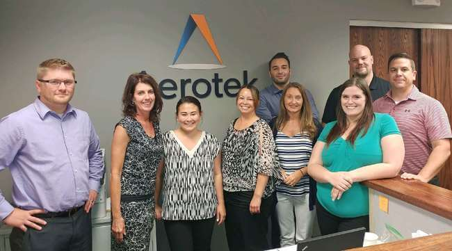 Aerotek office staff in Flint, MI