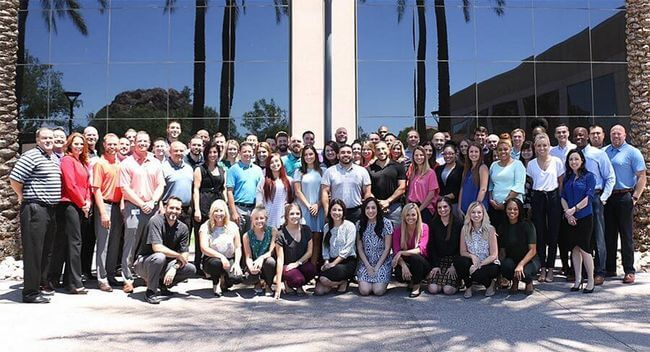 Aerotek office staff in East Phoenix, AZ