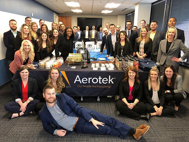 Aerotek Staff At The Milwaukee Office