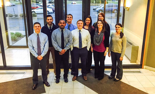Aerotek office staff in Toledo, OH