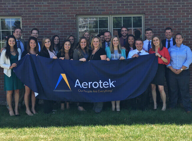 Aerotek recruiting and staffing location in Bloomington Illinois