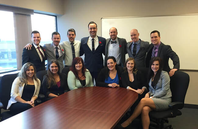 London, Ontario Aerotek Staffing Agency Team