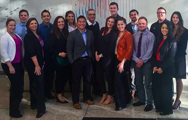 Aerotek office staff in San Ramon, California