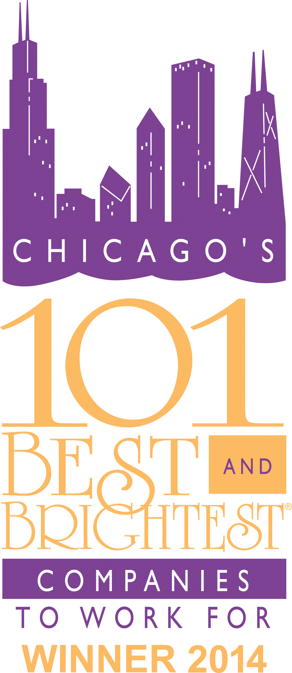 Aerotek named a Best and Brightest Company to Work For in Chicago
